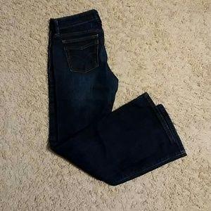 Levis low boot cut jeans